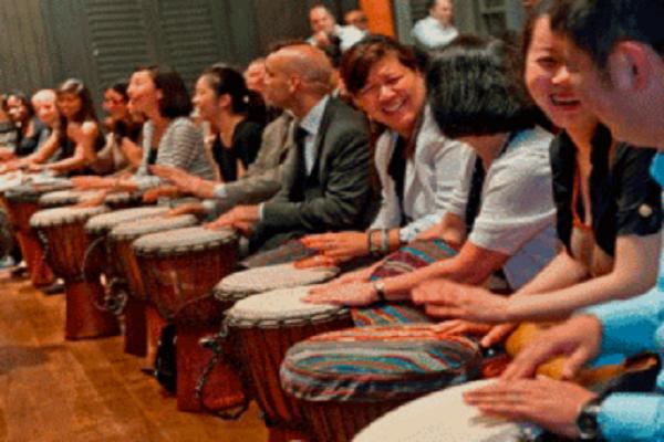 Drumming Ice Breaker - Drum Games - Vietnam