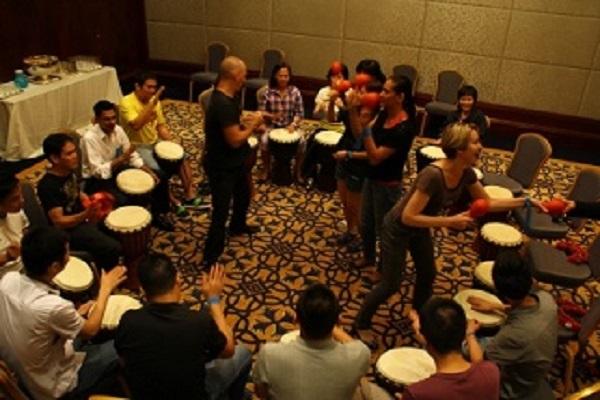 Drumming Team Challenge - Team Builder - Vietnam