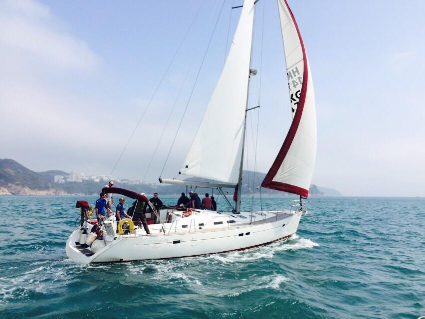 sailing team building in hong kong