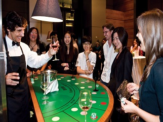 Wine and Gourmet Casino Casino Party Vietnam