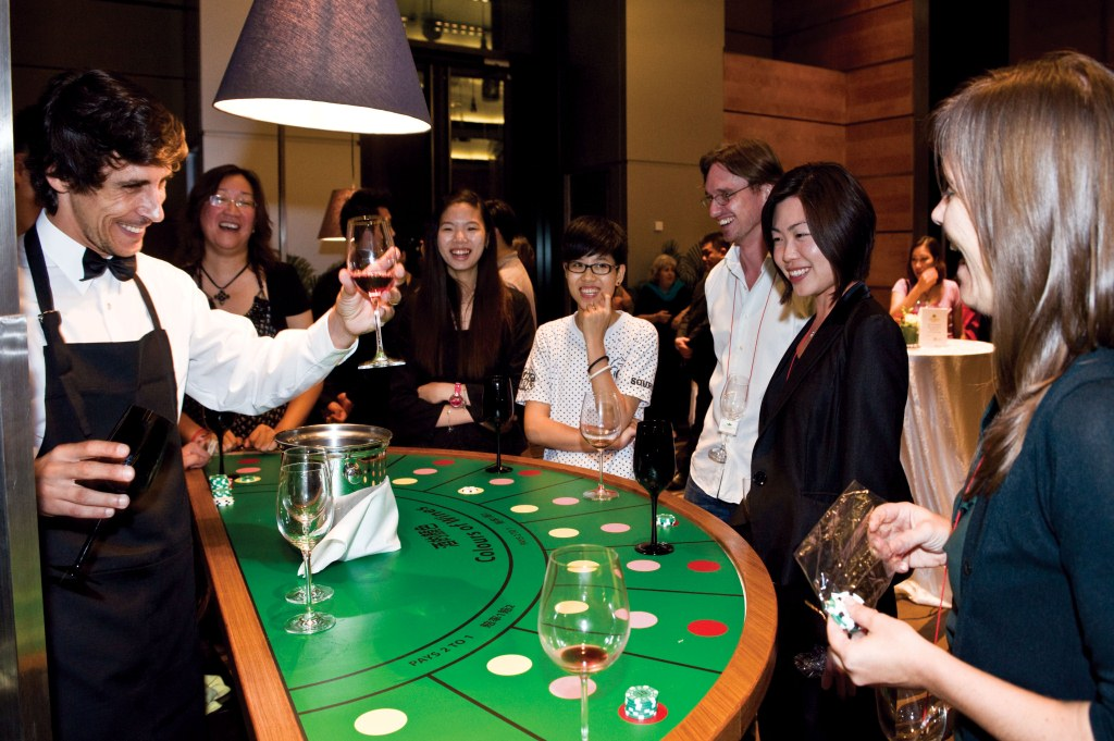 Wine and Gourmet Casino Night Vietnam
